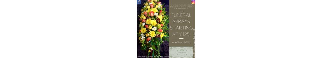 Funeral Coffin Spray