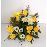 Memorial tribute from coffin spray - starting at £5 each