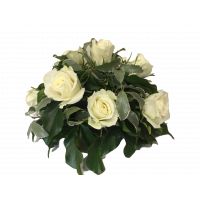 Small Sympathy Funeral Flower Arrangement